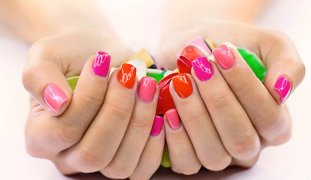 manicure e pedicure shellac